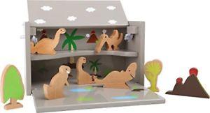 【送料無料】ボックスゲームsmall foot 5718 box giochi il mondo dei dinosauri