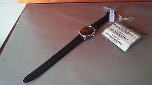 【送料無料】ビンテージクロックマンレザーストラップブラックレーダーウォッチom1515 details vintage orologio uomo cinturino pelle nero echt leder watch uhr