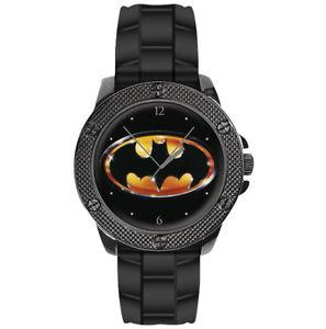【送料無料】ウォッチコレクションラウンドクロックフィルムバットマンdc watch collection orologio rotonde batmanlogo da film batman 1989