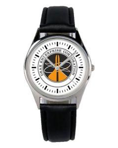 【送料無料】エンタープライズジェームズボンドファンクロックファンアクセサリdrax enterprise james bond regalo fan articolo accessori per tifosi orologio