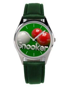 【送料無料】スヌーカーファンアクセサリーガジェットsnooker regalo fan articolo accessori gadget orologio 20010b verde