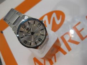 【送料無料】クロックマンボーダーorologio uomo marea watch acciaio e bordo blu art b540801