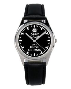 【送料無料】ドライブドイツファンアクセサリーガジェットkeep calm drive german regalo fan articolo accessori gadget orologio b2266