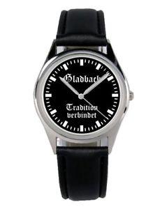 【送料無料】ファンアクセサリーガジェットgladbach mnchengladbach regalo fan articolo accessori gadget orologio b1955