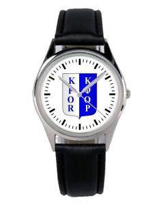 【送料無料】コソボエンブレムドイツkfor kosovo stemma distintivo esercito tedesco nato orologio b1015