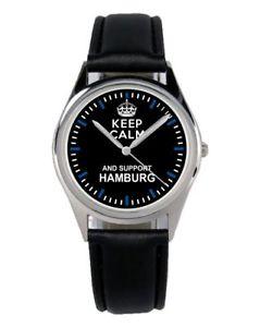 【送料無料】ハンブルクサポーターファンアクセサリーガジェットamburgo supporter regalo fan articolo accessori gadget orologio b1304
