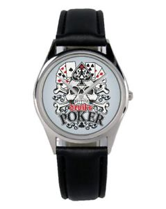 【送料無料】ポーカーファンアクセサリーガジェットpoker regalo fan articolo accessori gadget orologio b2861