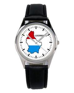 【送料無料】ルクセンブルクファンアクセサリーガジェットlussemburgo luxembourg souvenir regalo fan articolo accessori gadget orologio b1123