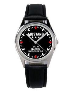 【送料無料】ムスタングファンアクセサリーガジェットmustang oldtimer regalo fan articolo accessori gadget orologio b2485