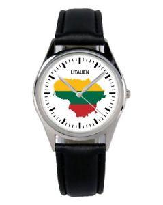 【送料無料】リトアニアファンアクセサリーガジェットlituania souvenir regalo fan articolo accessori gadget orologio b1122