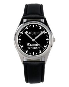 【送料無料】ポットファンアクセサリーガジェットruhr pott regalo fan articolo accessori gadget orologio b2049