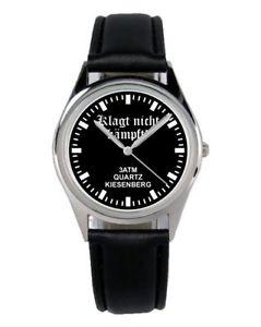 【送料無料】ファンアクセサリーガジェットnon lamenta combatte soldato regalo fan articolo accessori gadget orologio b2502