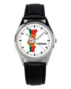 【送料無料】ポルトガルファンアクセサリーガジェットportogallo souvenir regalo fan articolo accessori gadget orologio b1109