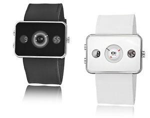 【送料無料】デジタルアナログディスクユーロthe one digital analog watch turning disc ip1023bk, uvp 159 euro, nuovo amp; ovp