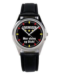 【送料無料】オペファンアクセサリーガジェットleverkusen mer stonn op regalo fan articolo accessori gadget orologio b2287