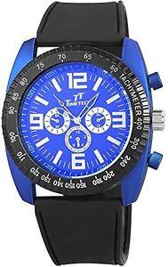 カラーブラックshahafi gmbh 227223000001  orologio da polso, uomo, colore nero l8p
