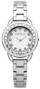 【送料無料】カラーストラップmoroso 18271 m1205sm orologio da polso da donna, cinturino in metallo colore g