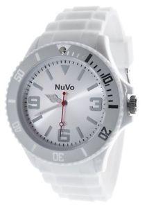 【送料無料】クロックアナログミックスクォーツnuvo nu13h07 orologio tendenza analogico al quarzo misto quadrante w3k