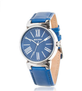 【送料無料】アナログbilyfer orologio analogico 1f598 pelle blu donna