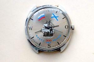 【送料無料】ロシアракетаバルコウォッチrussian watch reloj raketa cohete ракета 300 aos de la flota rusa, barco
