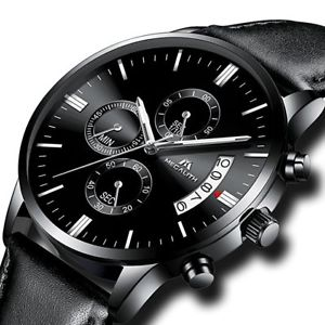 ステンレススチールスポーツクロノグラフウォッチビジネスuomini militare impermeabile sport cronografo in acciaio inox orologio da polso business