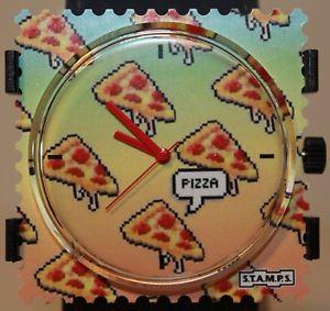 【送料無料】クロックピザピザスタンプstamps orologio pizza pizza 104825 quadrante nuovo stamps
