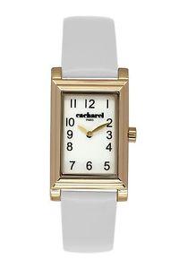【送料無料】cacharel cld 0071bb orologio da polso donna, pelle, colore bianco v4x