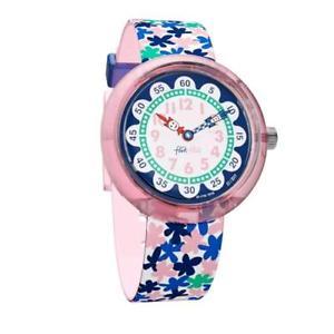 【送料無料】クロックロンドンflik flak orologio bambini london flower fbnp080