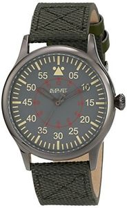 【送料無料】シュタイナークオーツアナログaugust steiner as8125gn orologio da polso al quarzo, analogico, uomo, b3d