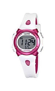 【送料無料】カリプソクロックデジタルストラップcalypso, orologio da bambina con quadrante digitale lcd e cinturino in i1f