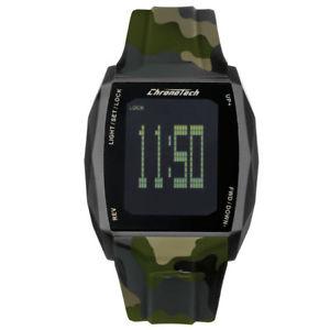 【送料無料】デジタルクロックタッチchronotech orologio digitale quadrante ttouch rw0022