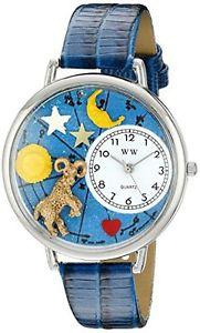 【送料無料】アナログスキンwhimsical watches orologio da polso, analogico al quarzo, pelle q2r