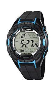 【送料無料】カリプソプラスチックカラーブラックcalypso watches k56272 orologio da polso uomo, plastica, colore nero a4x