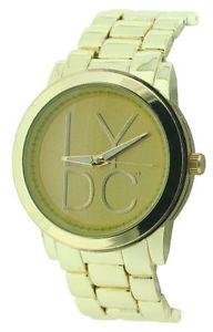 【送料無料】カラーゴールドlydc lydc50d orologio da polso, donna, colore oro h7c