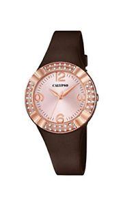 【送料無料】カリプソmarrone calypso k56593 orologio da polso colore 8430622606632 0tk