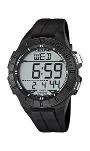 【送料無料】カリプソブラックcalypso k56076, orologio da polso, uomo, nero p5p