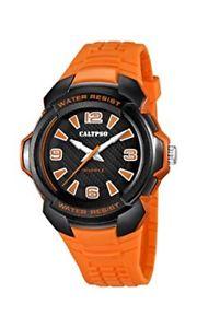 【送料無料】ブラックオレンジカリプソアナログクォーツバーneroarancione calypso watches orologio da polso, analogico al quarzo, bar