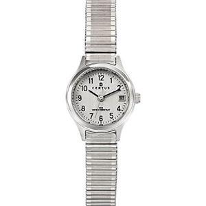 【送料無料】シルバーステンレスargentoargento certus 621339 orologio da polso donna, acciaio inox, 0wg