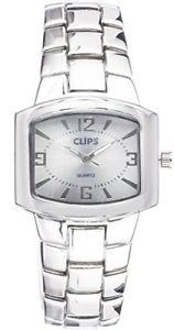 【送料無料】クリップクオーツアナログclips 554260218 orologio da polso al quarzo analogico donna lega argento