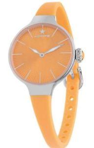 フープオレンジnuova inserzioneorologio hoops 2583ls06 arancione metallo donna