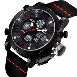 【送料無料】クロックマンスポーツクロノグラフorologio uomo orologi militari sport 30m impermeabile led cronografo c7d