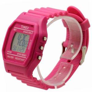 クロノグラフピンクピンクスポーツウォッチom1543 orologio donna cronografo timex indiglo rosa womens pink watch sport