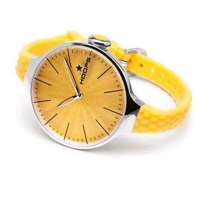 【送料無料】フープクロックシェリーシルバーゴールドイエローhoops orologio cherie large silver giallo oro 2502l03