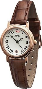 【送料無料】カラーブラウンlimit 600701 orologio da polso donna, pelle, colore marrone p9q