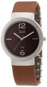 【送料無料】カラーjust watches 48s4702br orologio da polso donna, pelle, colore t9c
