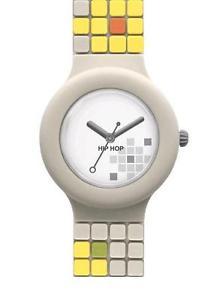 【送料無料】ヒップホップモザイクhip hop orologio mosaic cassa 32,00 mm sand hwu0454
