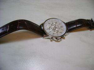 【送料無料】ダコタモデルブラウンdakota orologio uomo modello 22099 marrone