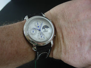 【送料無料】クロノグラフクオーツウォッチrare and nos kienzle chronograph moonophase quartz watch uhr montre reloj