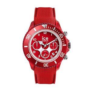 【送料無料】クロノicewatch  014219  ice dune  forever red  large  chrono:hokushin