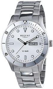 【送料無料】リージェントステンレスストラップregent 11150578 orologio da polso da uomo, cinturino in acciaio inox j0k
